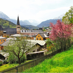 Alpen landscapes - Berchtesgaden , German-Austrian border