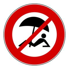 Divieto ombrelloni - riserva naturale