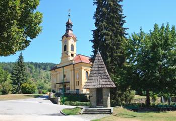 Parish Catholic Church in Portschach am Worthersee Austria