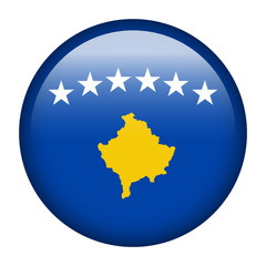 Kosovo flag button