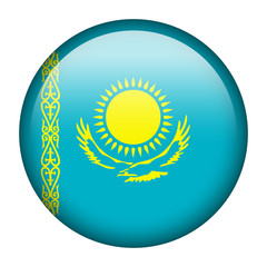 Kazakhstan flag button