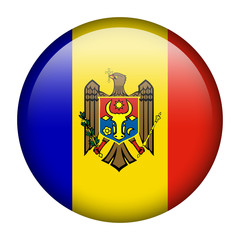 Moldova flag button