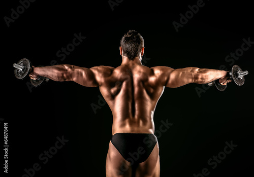 back muscles - 64878491