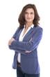 Portrait einer älteren attraktiven Business Frau isoliert