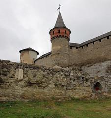 Fortress in Kamenetz-Podolsk, Ukraine