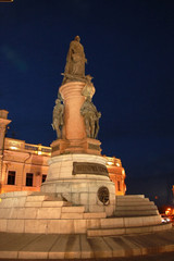 The monument of the Catherine II the Great