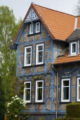 Fachwerkhaus Blau