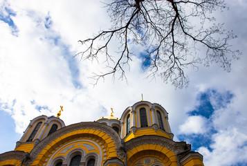 Saint Volodymyr orthodox cathedral in Kyiv, Ukraine