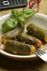 Stuffed zucchini Nadziewane cukinią Courgettes farcies