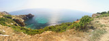Panoramic  view of seacoast near Fiolent cape, Crimea, Ukraine