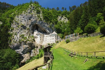 View of the Castle Predjama, Slovenia