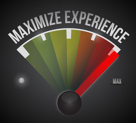 maximize experience illustration design