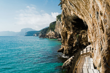 Trail to Grotta del Bue Marino
