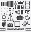 Vector Set: Photography and Camera Objects - 64886814