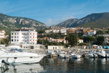 Cala Gonone harbour