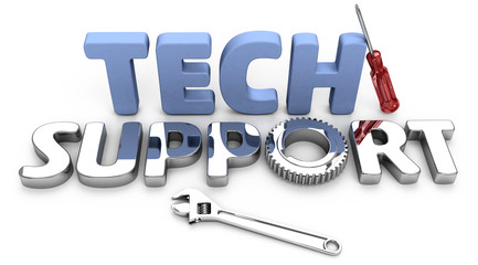 Customer support for technology questions