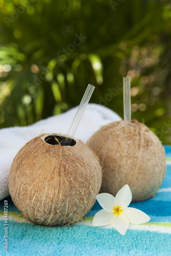 Coconut Waters with Plumeria