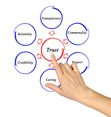Diagram of trust