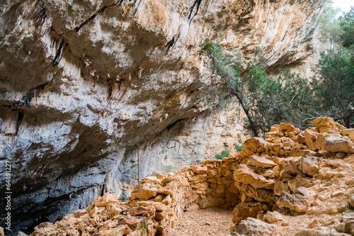 Papiers peints Ruine Tiscali archeological site