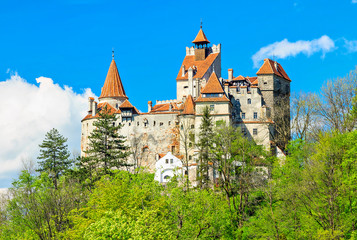 The famous Dracula castle,Bran,Transylvania,Romania