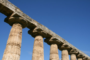 temple of hera at paestum