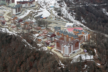 Mountain Olympic village, Sochi, Russia