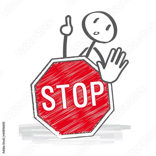 GamesAgeddon   Bitte beachten   Strichmännchen tragen Schild mit