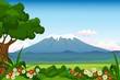 landscape background for you design