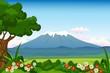 landscape background for you design
