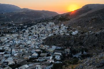 Chorio on Kalymnos island