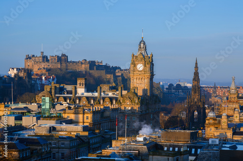 Edinburgh Morning Skyline