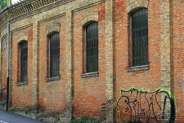 Alte Industriegebäude_Mauer