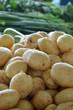 Organic potatoes in a Market in Macedonia