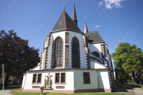 Leinwanddruck Bild Kath. Pfarrkirche St. Martin in Bad Lippspringe, Deutschland