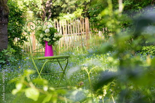 canvas print picture Gartenidylle