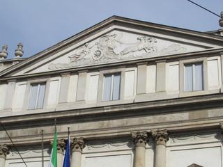 Facciata del Teatro alla Scala