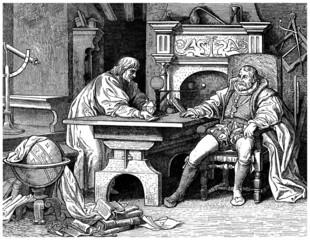 Astronomer -- 17th century