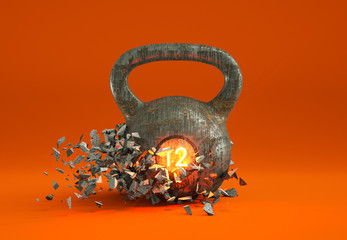 Kettlebell Illustration