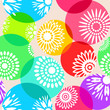 Modern seamless floral pattern