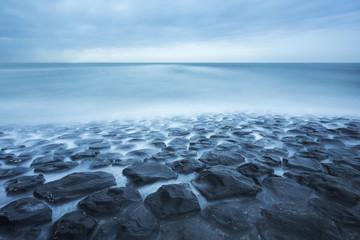 Lost sea landscape