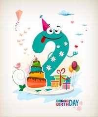 Second Happy Birthday card.