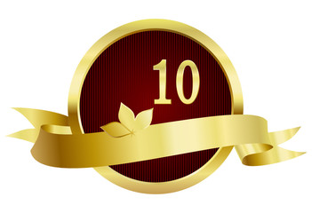 10 Years Anniversary, Button