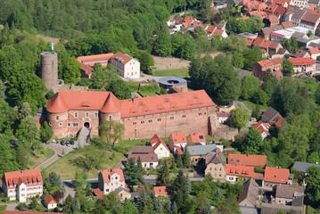 Burg Eisenhardt - Bad Belzig - Luftbild