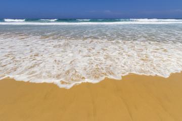 Ola en la playa