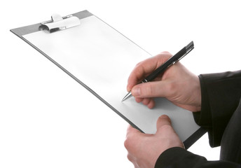 Blank card for notes