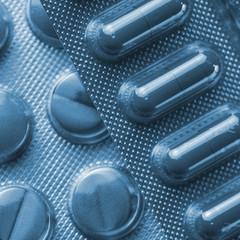 Tabletten in Blister verpackungen