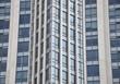 Facade of luxurious building