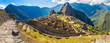 Panorama of Mysterious city - Machu Picchu, Peru,South America - 64916665