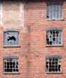 Broken Windows in an old building