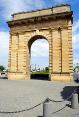 Porte de Bourgogne in Bordeaux, France